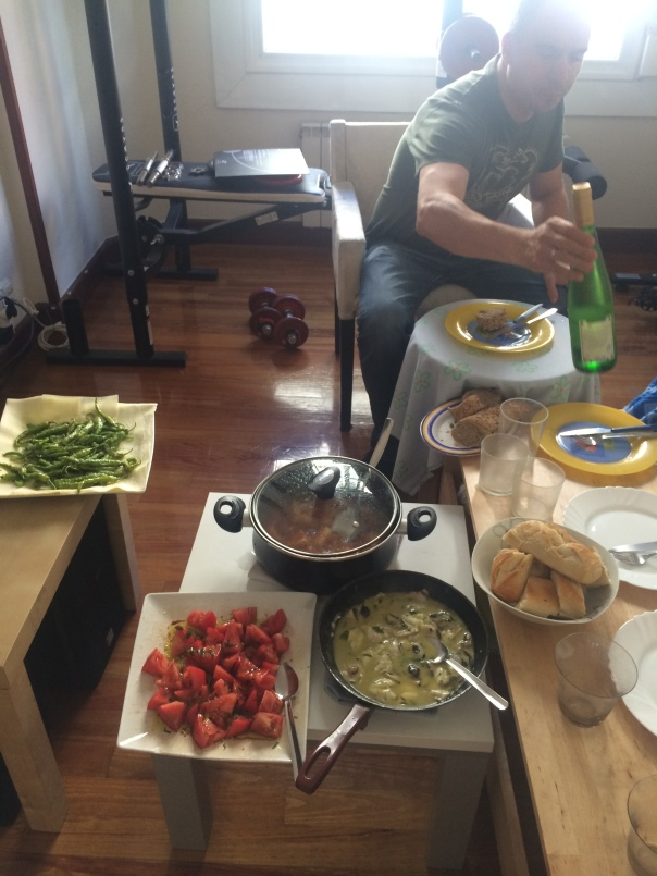 The best Couchsurfing meal ever!!!
