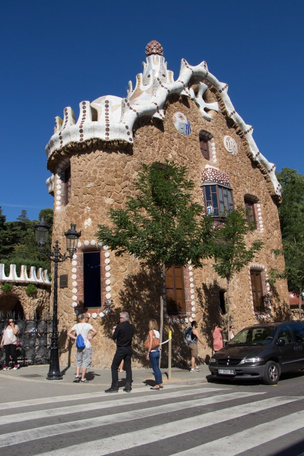 Parque Guell entrance