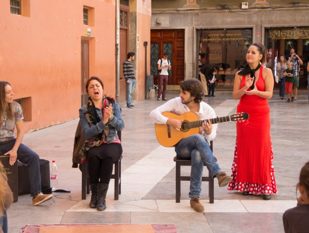 Flamenco in the streets