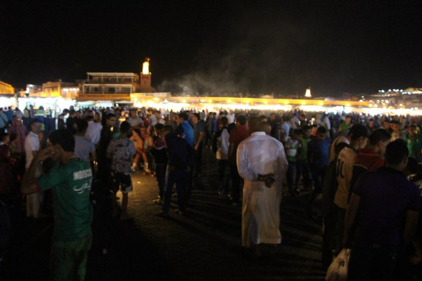 Djemaa Al Fna at night