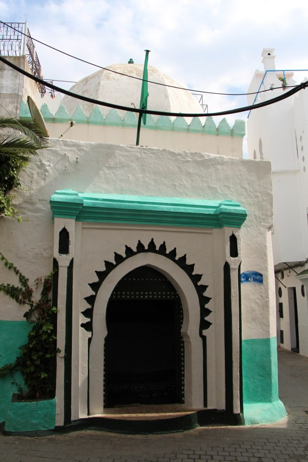 "Classic Islamic architecture in the Tangiers ""Kasbah""- castle"